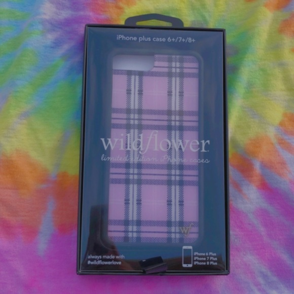 Wild flower case! for iPhone 6+,7+,8+